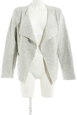 s.Oliver Blazer en laine gris clair moucheté style décontracté