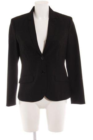 s.Oliver Wool Blazer black business style