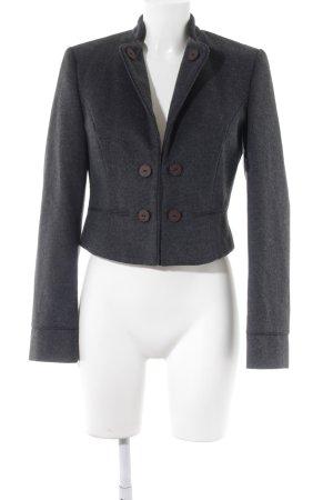 s.Oliver Blazer de lana taupe moteado look casual