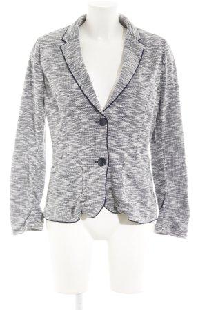 s.Oliver Blazer in lana bianco sporco-blu scuro puntinato stile casual