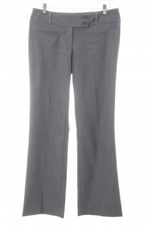 s.Oliver Woolen Trousers grey pinstripe business style