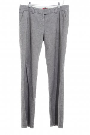 s.Oliver Woolen Trousers zigzag pattern business style