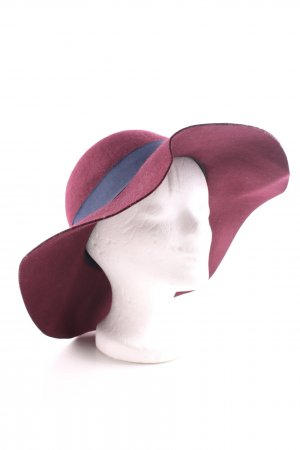 s.Oliver Cappello di lana rosso-blu elegante