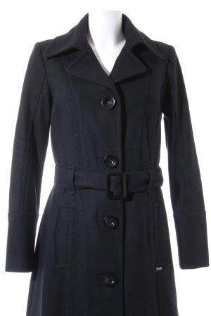 s.Oliver Veste en laine noir style classique