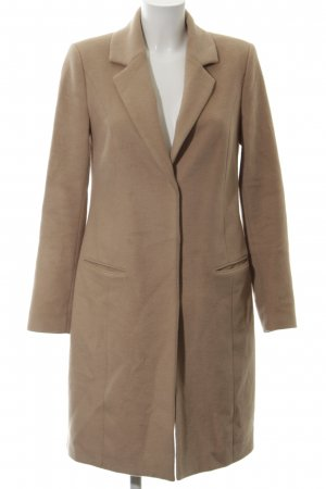s.Oliver Abrigo de lana marrón claro elegante