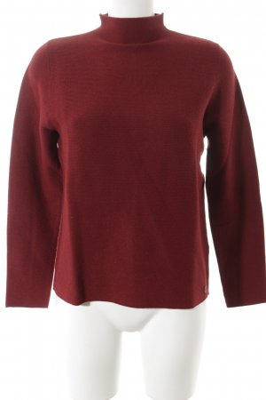 s.Oliver Wollpullover karminrot Casual-Look