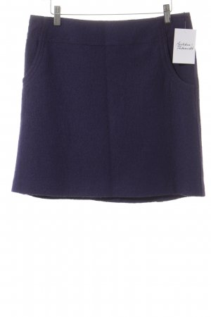 s.Oliver Wool Skirt dark violet classic style