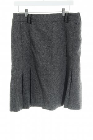 s.Oliver Wool Skirt light grey-grey flecked casual look