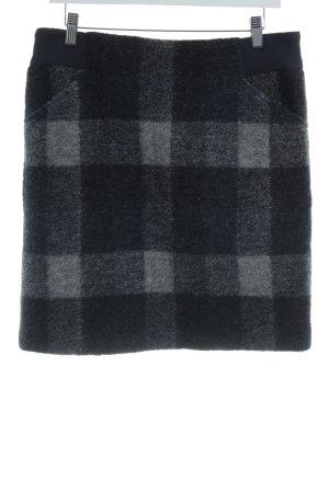 s.Oliver Wollen rok geruite print simpele stijl