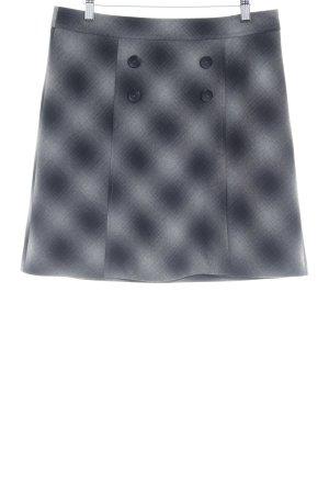s.Oliver Wollen rok zwart-lichtgrijs kleurverloop klassieke stijl