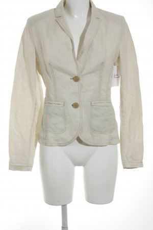 s.Oliver Women Sweat Blazer cream casual look