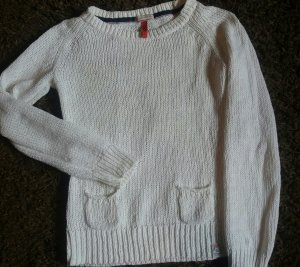 S.Q. Pullover  weiss   .