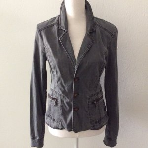 Denim Blazer dark grey