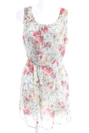 S3SS Trägerkleid florales Muster Romantik-Look