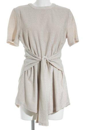 Sabo Skirt Jumpsuit creme-silberfarben Elegant