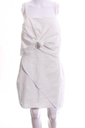 Sabo Skirt Minikleid wollweiß Casual-Look