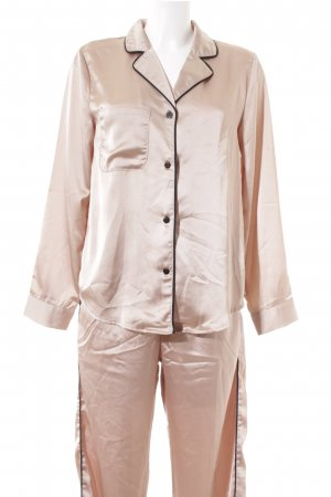 Sabo Skirt Pyjama schwarz-bronzefarben Romantik-Look
