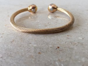 Armlet gold-colored real gold