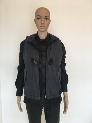 Sabotage Hooded Vest dark blue