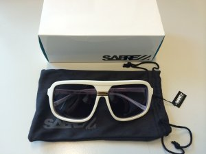 Sunglasses white synthetic material