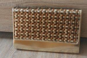 Clutch gold-colored-bronze-colored