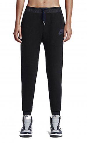 Sacai x Nikelab Gray Cotton Tech Fleece Knit Track Sweat Pants Jogginghose Gr. XS/S