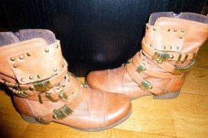 SACHA Boots Stiefeletten 38 Nieten