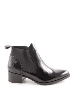 Sacha Chelsea Boot noir style décontracté