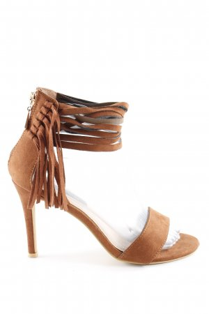 Sacha High Heel Sandaletten cognac Party-Look