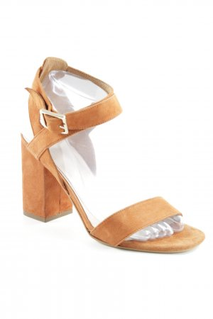 Sacha High Heel Sandaletten dunkelorange Party-Look