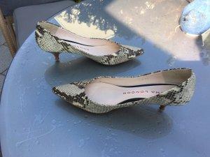 Sacha london Mary Jane Pumps taupe-natural white