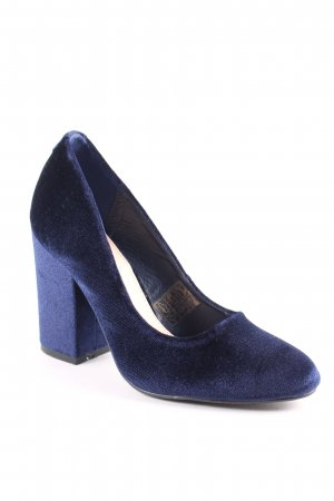 Sacha High Heels dunkelblau klassischer Stil
