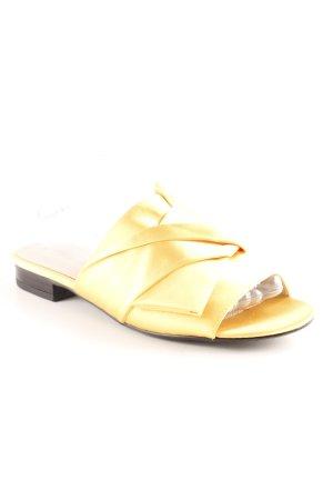 Sacha Sabots dark yellow elegant