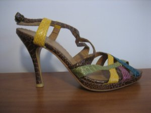 sacha sandalen bunt gr. 38 neuwertig