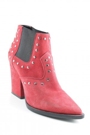 Sacha Western Booties red casual look