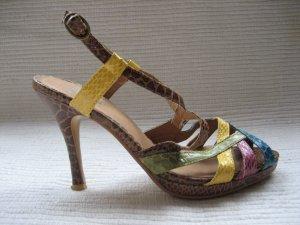 sacha wunderschone sandalen gr. 38 neu bunt
