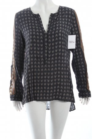 Sack's Schlupf-Bluse Mustermix Casual-Look