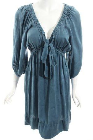 Sack's Tunikakleid blassblau Eleganz-Look