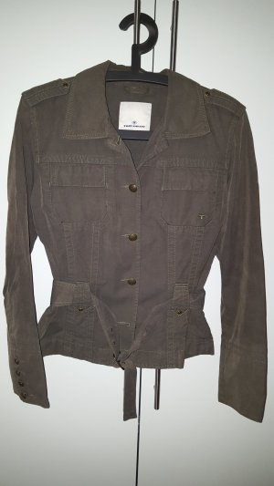 Tom Tailor Safari Jacket olive green-khaki