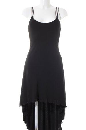 Sagaie Trägerkleid schwarz Elegant