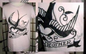 """Sailor Jerry """"Mother"""" T-shirt"""