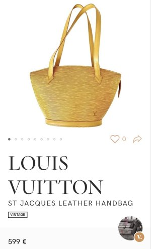 Saint Jacques Louis Vuitton SchulterTasche