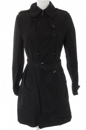 Saint Jacques Trenchcoat schwarz Casual-Look