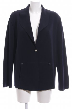 Saint James Knitted Blazer blue elegant