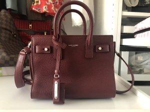 Yves Saint Laurent Shoulder Bag bordeaux leather