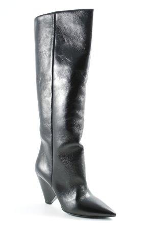 """Saint Laurent Absatz Stiefel """"Niki Boots Black"""" schwarz"""