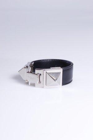 Saint Laurent Armband Monet Bracelet Small Studs silberfarben