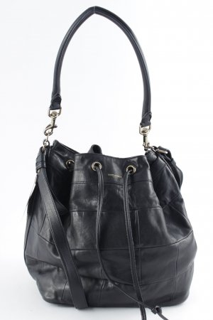 "Saint Laurent Bolso tipo marsupio ""Medium Bucket Bag Black"""