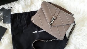 Saint Laurent Gekruiste tas taupe-grijs-bruin