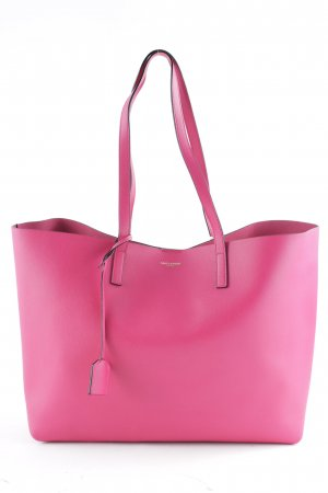 "Saint Laurent Handtasche ""Large Shopping Bag Bubblegum"" magenta"